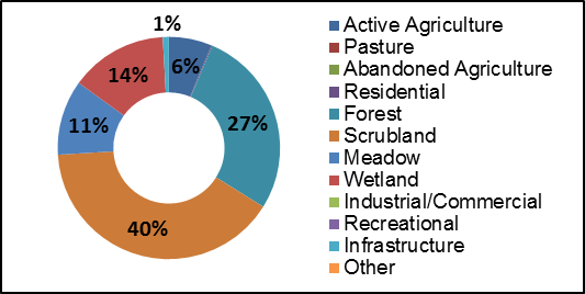 Figure 18 Land Use along Black Creek